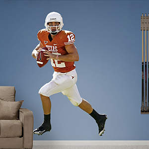 Colt McCoy Texas Fathead Wall Decal